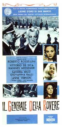 General Della Rovere - 11 x 17 Movie Poster - Italian Style A