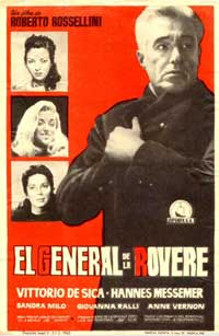 General Della Rovere - 11 x 17 Movie Poster - Spanish Style A