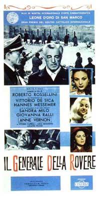 General Della Rovere - 13 x 26 Movie Poster - Italian Style A