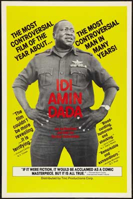 General Idi Amin Dada: A Self Portrait - 11 x 17 Movie Poster - Style B
