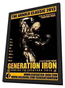 Generation Iron - 11 x 17 Movie Poster - Style A - in Deluxe Wood Frame