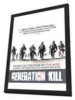 Generation Kill - 11 x 17 TV Poster - Style B - in Deluxe Wood Frame