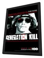 Generation Kill - 27 x 40 TV Poster - Style A - in Deluxe Wood Frame