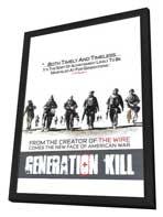 Generation Kill - 27 x 40 Movie Poster - Style B - in Deluxe Wood Frame