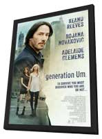 generation Um� - 11 x 17 Movie Poster - Style B - in Deluxe Wood Frame