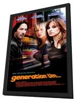 generation Um� - 11 x 17 Movie Poster - Style A - in Deluxe Wood Frame