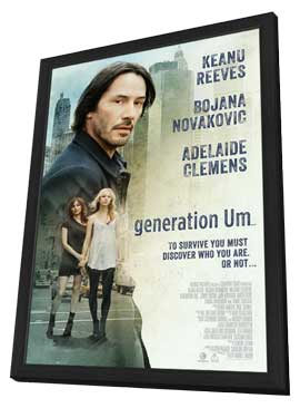 generation Um… - 11 x 17 Movie Poster - Style B - in Deluxe Wood Frame