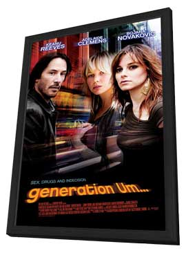 generation Um… - 11 x 17 Movie Poster - Style A - in Deluxe Wood Frame