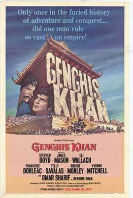 Genghis Khan - 11 x 17 Movie Poster - Style A