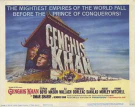Genghis Khan - 11 x 14 Movie Poster - Style A