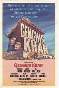 Genghis Khan - 27 x 40 Movie Poster - Style A