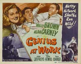 Genius at Work - 22 x 28 Movie Poster - Half Sheet Style A