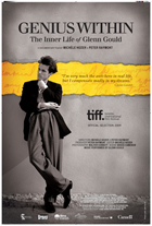 Genius Within: The Inner Life of Glenn Gould - 27 x 40 Movie Poster - Canadian Style A