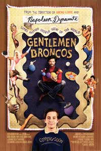 Gentleman Broncos - 43 x 62 Movie Poster - Bus Shelter Style A
