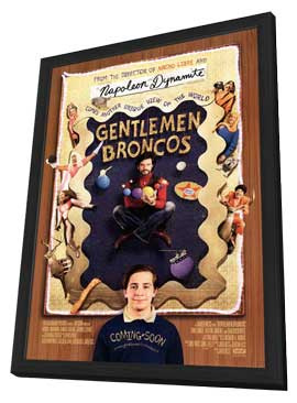 Gentleman Broncos - 27 x 40 Movie Poster - Style A - in Deluxe Wood Frame