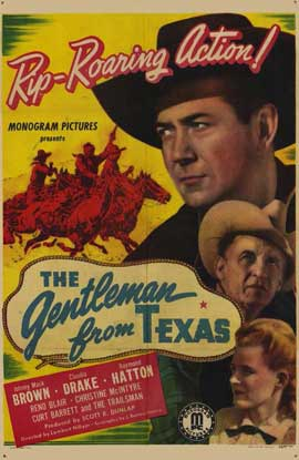 Gentleman from Texas - 11 x 17 Movie Poster - Style A