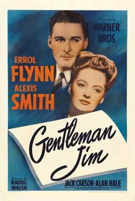 Gentleman Jim - 27 x 40 Movie Poster - Style B