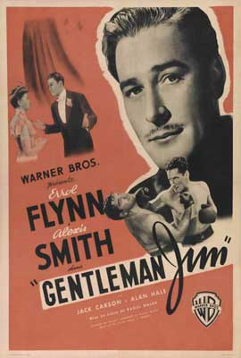 Gentleman Jim - 27 x 40 Movie Poster - French Style A