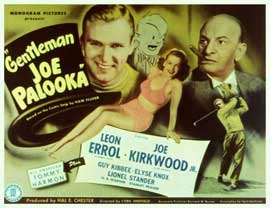 Gentleman Joe Palooka - 11 x 14 Movie Poster - Style A