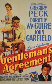 Gentleman's Agreement - 11 x 17 Movie Poster - Style A