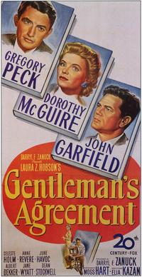 Gentleman's Agreement - 11 x 17 Movie Poster - Style B