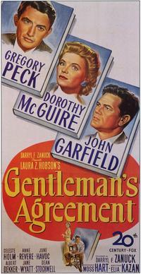 Gentleman's Agreement - 11 x 17 Movie Poster - Style B