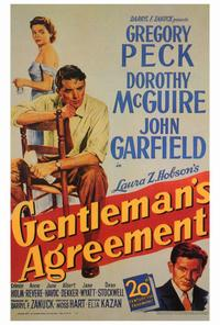 Gentleman's Agreement - 27 x 40 Movie Poster - Style A