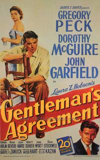 Gentleman's Agreement - 43 x 62 Movie Poster - Bus Shelter Style A