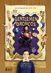 Gentlemen Broncos - 11 x 17 Movie Poster - German Style A