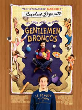 Gentlemen Broncos - 11 x 17 Movie Poster - French Style A