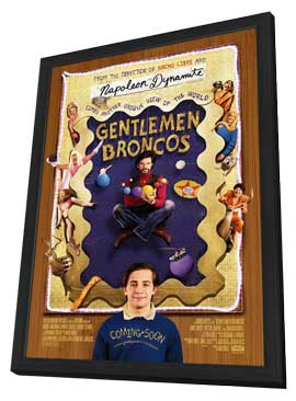 Gentlemen Broncos - 11 x 17 Movie Poster - Style A - in Deluxe Wood Frame