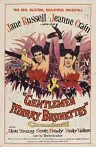 Gentlemen Marry Brunettes - 27 x 40 Movie Poster - Style A