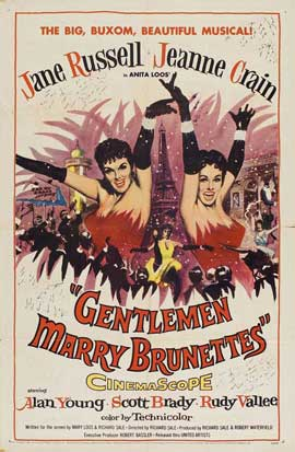 Gentlemen Marry Brunettes - 11 x 17 Movie Poster - Style A