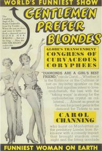Gentlemen Prefer Blondes (Broadway) - 14 x 22 Poster - Style A