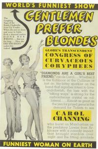 Gentlemen Prefer Blondes (Broadway) - 11 x 17 Poster - Style A