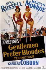 Gentlemen Prefer Blondes - 11 x 17 Movie Poster - Style B