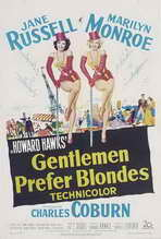 Gentlemen Prefer Blondes - 27 x 40 Movie Poster - Style B
