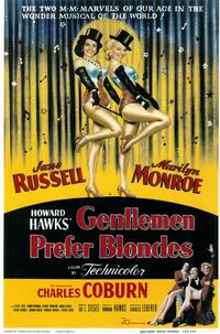 Gentlemen Prefer Blondes - 11 x 17 Movie Poster - Style A