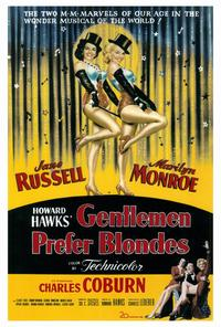 Gentlemen Prefer Blondes - 27 x 40 Movie Poster - Style A
