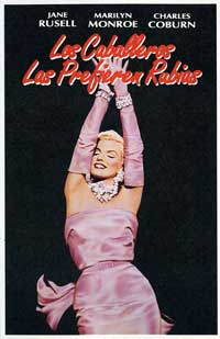 Gentlemen Prefer Blondes - 11 x 17 Movie Poster - Spanish Style B