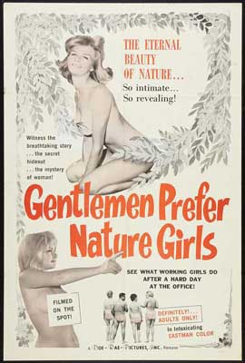 Gentlemen Prefer Nature Girls - 27 x 40 Movie Poster - Style A