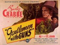 Gentlemen With Guns - 11 x 14 Movie Poster - Style A