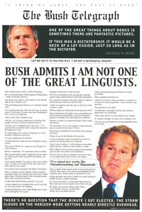 George Bush - People Poster - 16 x 20 - Style A