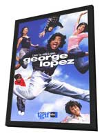 George Lopez - 11 x 17 TV Poster - Style A - in Deluxe Wood Frame
