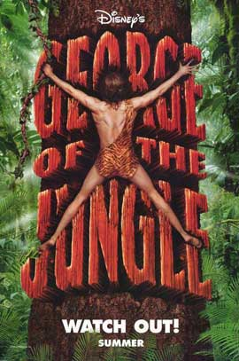 George of the Jungle - 27 x 40 Movie Poster - Style A