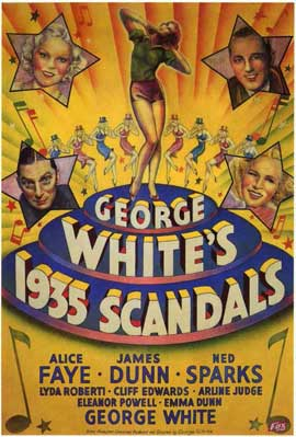George White's 1935 Scandals - 11 x 17 Movie Poster - Style A