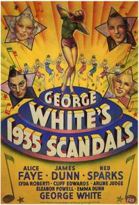 George White's 1935 Scandals - 43 x 62 Movie Poster - Bus Shelter Style A