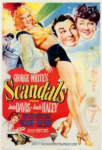 George White's Scandals - 11 x 17 Movie Poster - Style A