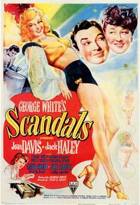 George White's Scandals - 43 x 62 Movie Poster - Bus Shelter Style A