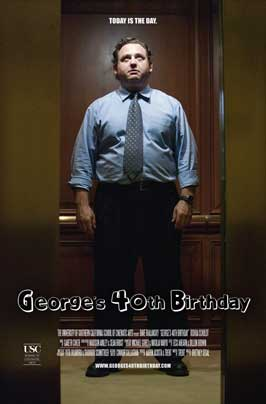 George's 40th Birthday - 43 x 62 Movie Poster - Bus Shelter Style A